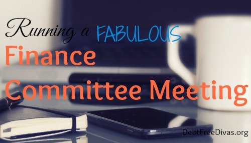Running a Fabulous Finance Committee Meeting