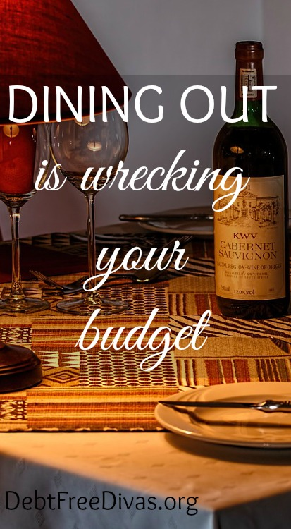 Dining out can blow your budget