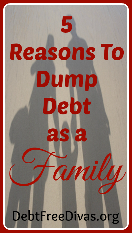 Dumping Debt As a Family @ Enchanted Homeschooling Mom