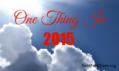 One Thing in 2015