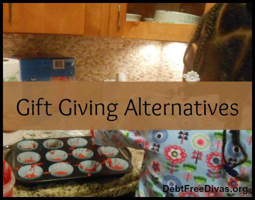 3 T's for Alternative Gift Giving