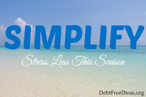 Simplify Strategically and Stress Less this Season