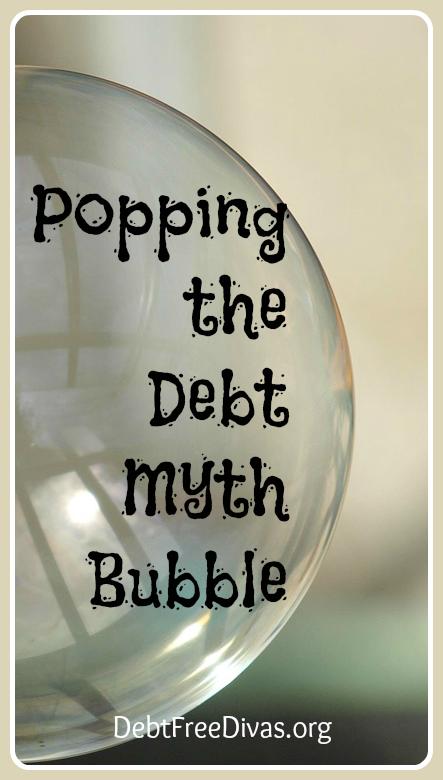 Debt Myth Bubble