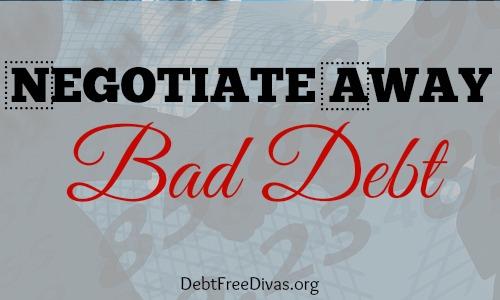 Negotiate Away Bad Debt on Credit Reports