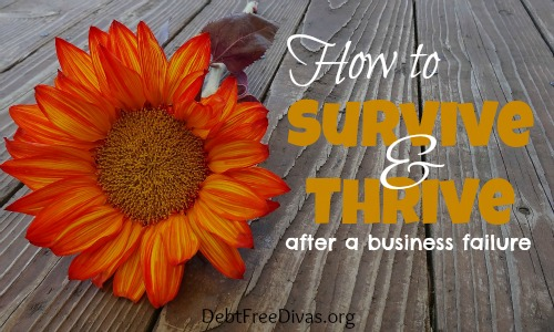 How to Survive and Thrive After Failing at Business
