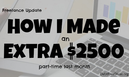 Freelance Update: How I made $2500 Extra in a Month